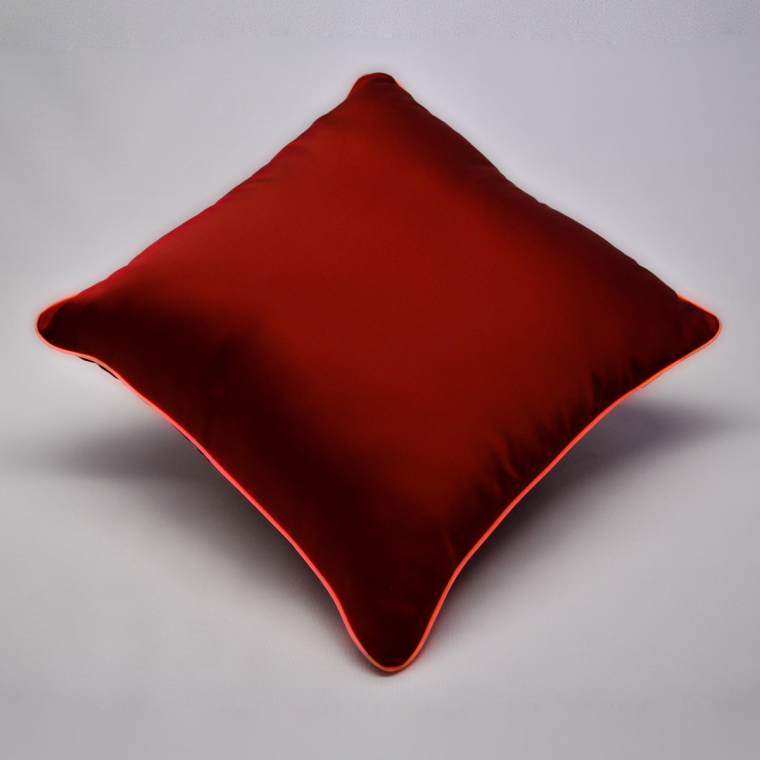 Cuscino Luminoso Rosso Luce Rossa