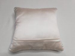 Cuscino Luminoso Bianco Luce Bianca RETRO dettaglio cerniera